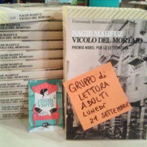 vicolo del mortaio gruppo di lettura adulti libreria controvento telese