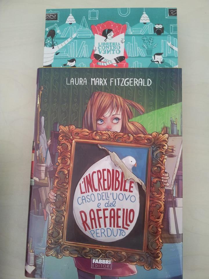 Libreria Controvento Gruppo di lettura Incredibile caso dell'uovo e del raffaello perduto fabbri