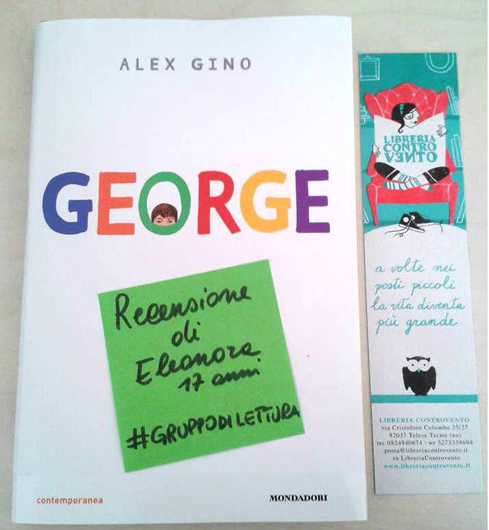 George Alex Gino recensione di Eleonora libreria Controvento
